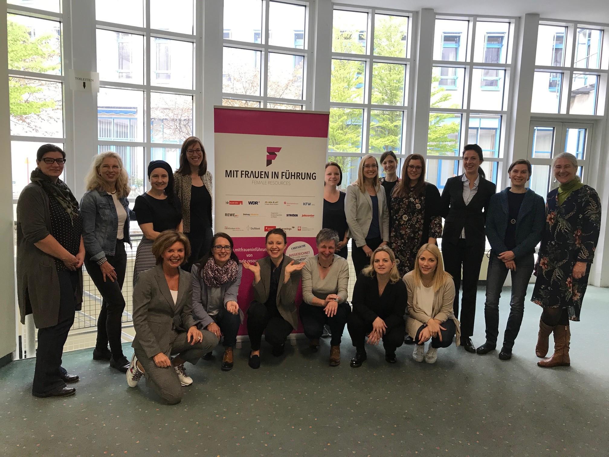 Teilnehmerinnen des 3. Cross Mentoring trafen sich zum Workshop